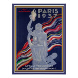 Paris World's Fair 1937 Art Deco Print