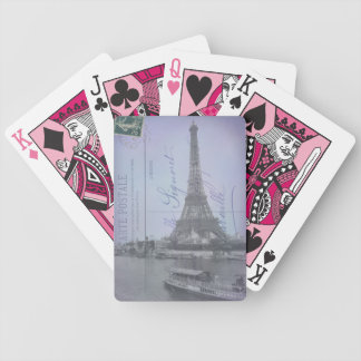Paris World's Fair French Postcard Playing Cards