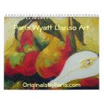 Paris Wyatt Llanso Fine Art Calendar