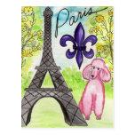 París y el caniche postal