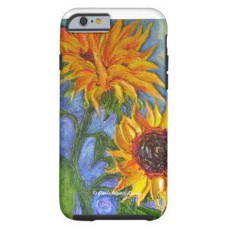 Paris Yellow Sunflower iPhone 6 case