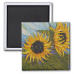 Paris' Yellow Sunflower Magnet