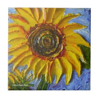 Paris Yellow Sunflower Tile