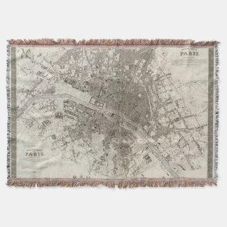 Paris Throw Blanket