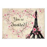 Parisain Invitation