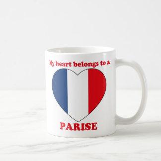 Parise Classic White Coffee Mug
