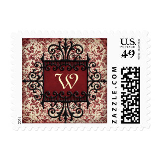 Parisenne Elegance Monogram Stamp