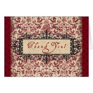Parisenne Thank You Card