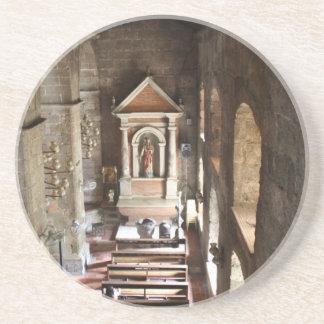 Parish Church of St Joseph, Las Piñas City Sandstone Coaster