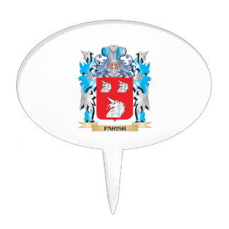 Parish Coat of Arms - Family Crest Cake Toppers