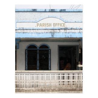 Parish office, Sulangan Postcard