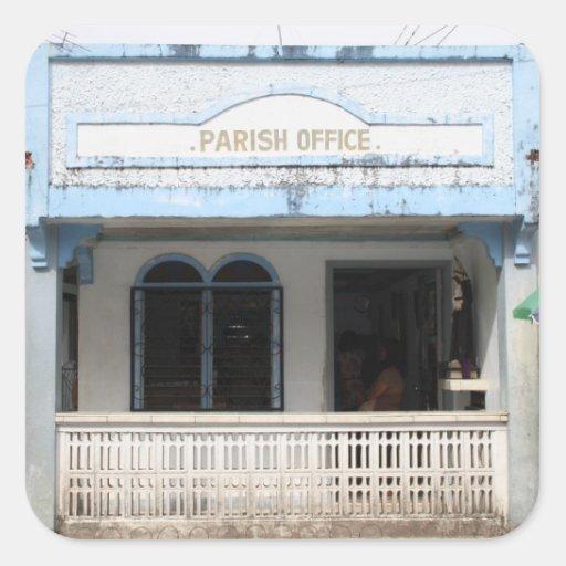 Parish office, Sulangan Square Sticker