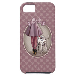 Parisian and its Dalmatian in walk iPhone SE/5/5s Case