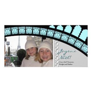 Parisian Arch Holiday Photo Card