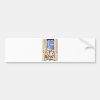 Parisian architecture bumper sticker