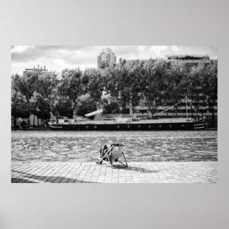 Parisian Canal - Poster