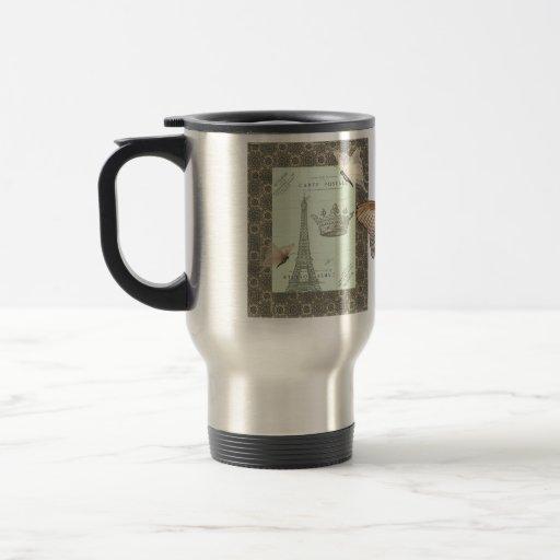 Parisian Collage Coffee Mug