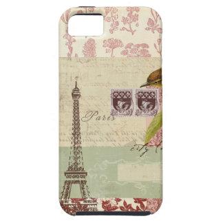 Parisian Collage for Customization iPhone 5 Case