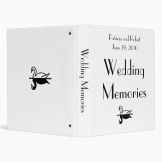 Parisian Deco Wedding Memories Binder