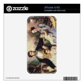 Parisian Family Decals For iPhone 4