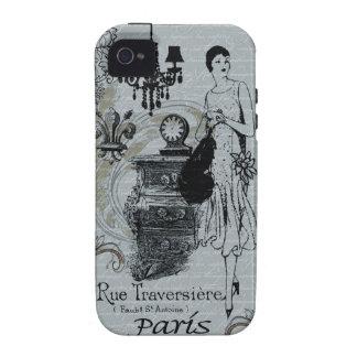 Parisian Fashion iPhone 4 Case