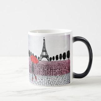parisian Girl 11 Oz Magic Heat Color-Changing Coffee Mug