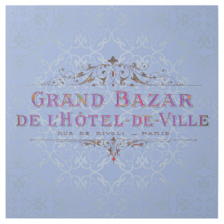 Parisian Hotel Vintage French Advertisement Gallery Wrap