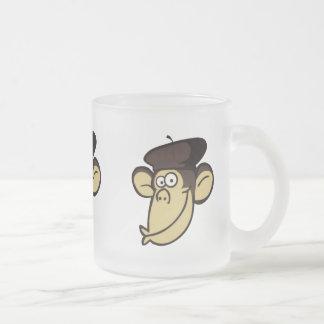 Parisian Monkey Coffee Mugs