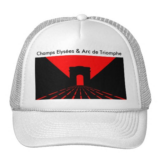 Parisian Sunset - Inspired by Champs Elysées and.. Mesh Hats