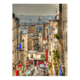 Parisian View Postcard