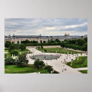 Parisian View Poster