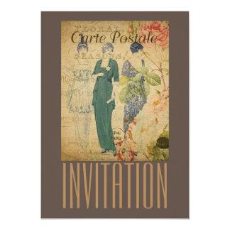 Parisian Vintage Ladies Card