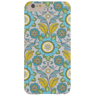 Parisian Wall Paper Scroll Phone Cover in Blue!