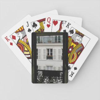 Parisian Window Playing Cards