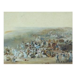 Parisians at the Champ de Mars Postcard