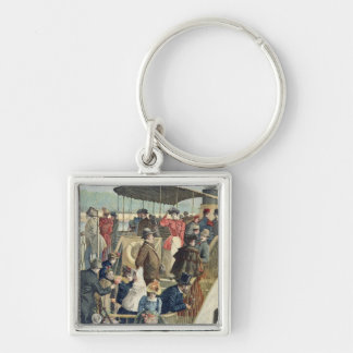 Parisians Returning from the Countryside Key Chain