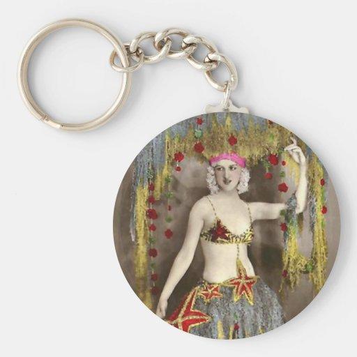 Parisienne Casino Dancer 3 Keychains