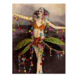 Parisienne Casino Dancer Postcards