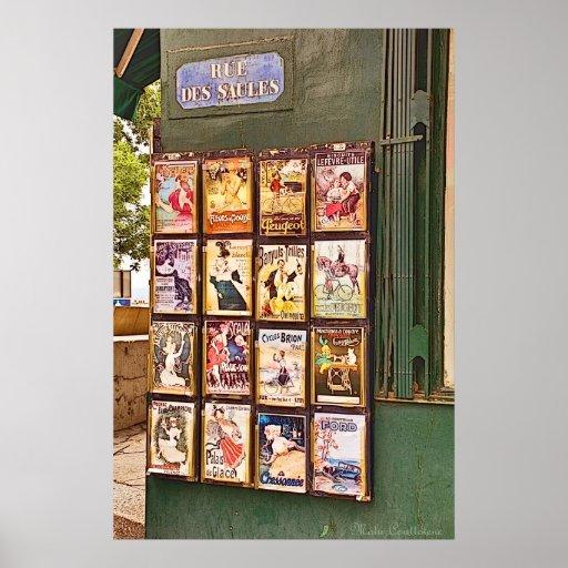 Parisienne Poster