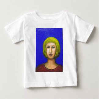 Parisienne with a bob haircut(naive expressionism) baby T-Shirt