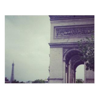 Paris's Champs-Élysées post card