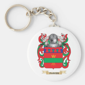 Pariss Coat of Arms (Family Crest) Key Chains
