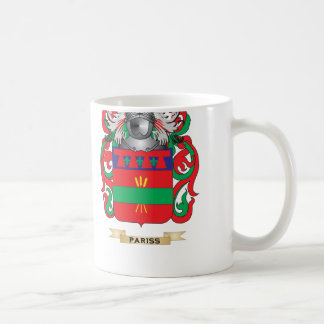 Pariss Coat of Arms (Family Crest) Coffee Mug