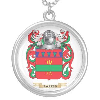 Pariss Coat of Arms (Family Crest) Necklaces