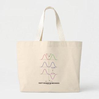 Parity In Quantum Mechanics Jumbo Tote Bag