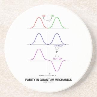 Parity In Quantum Mechanics Sandstone Coaster