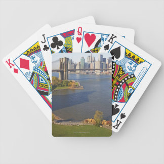 Park and Cityscape Bicycle Playing Cards