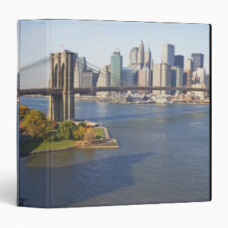 Park and Cityscape 3 Ring Binder