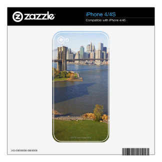 Park and Cityscape iPhone 4 Decals