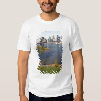 Park and Cityscape Tee Shirt